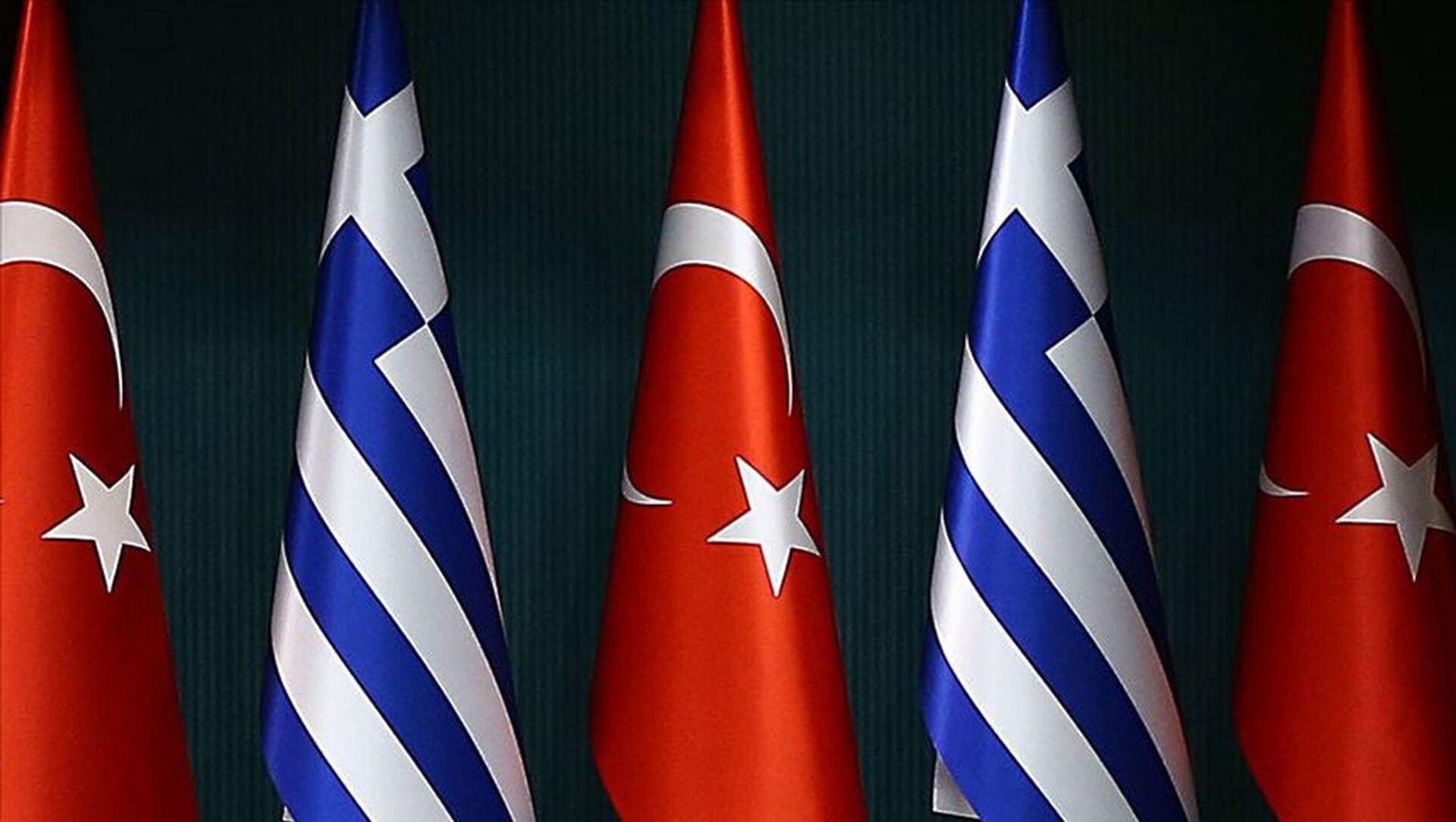 Türkiye Yunanistan bayrakları - Sputnik Türkiye, 1920, 01.08.2021