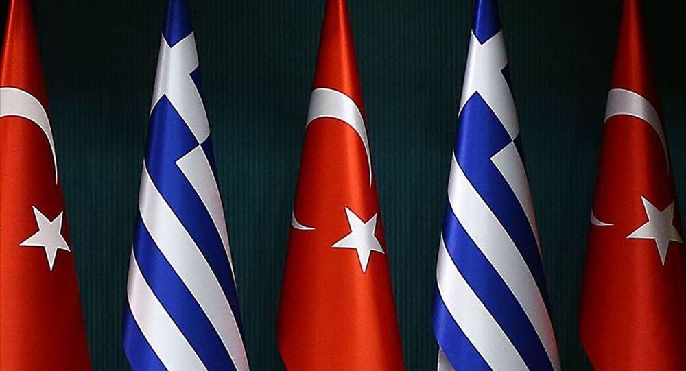 Türkiye Yunanistan bayrakları
