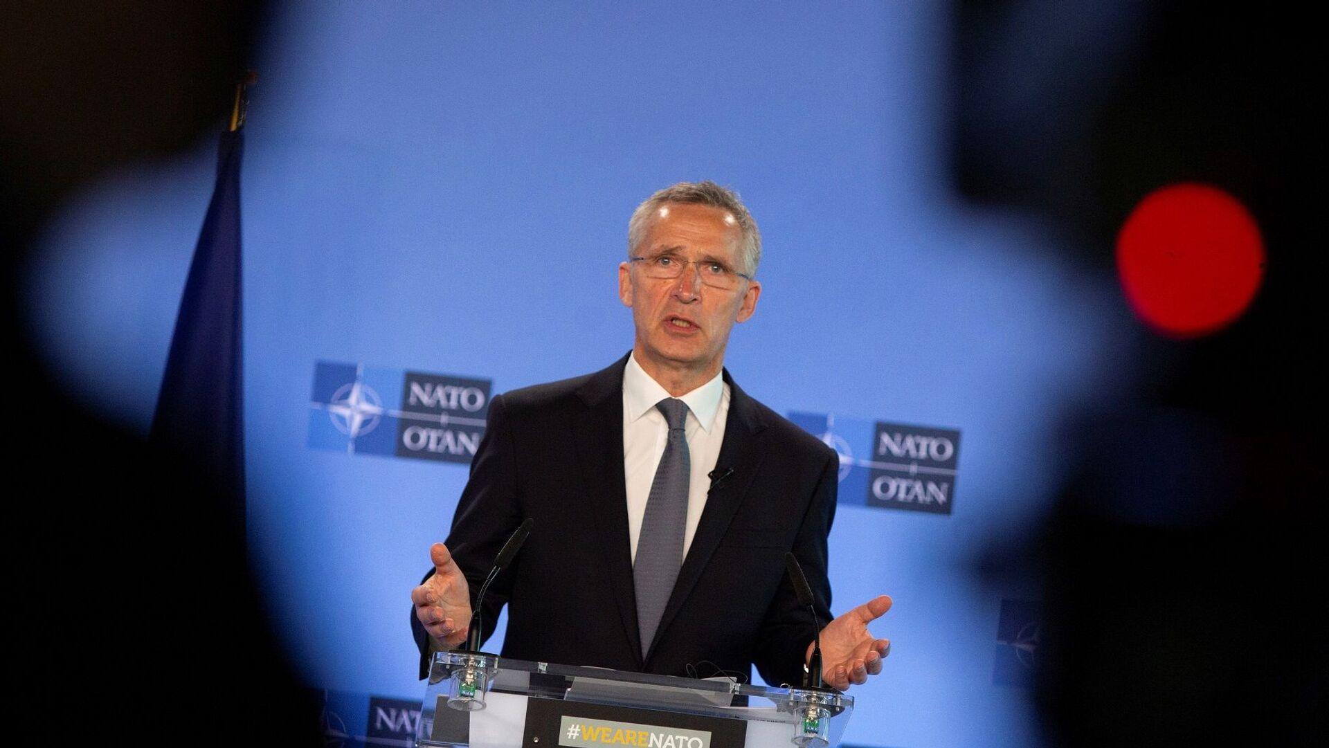 NATO Genel Sekreteri Jens Stoltenberg - Sputnik Türkiye, 1920, 14.06.2021