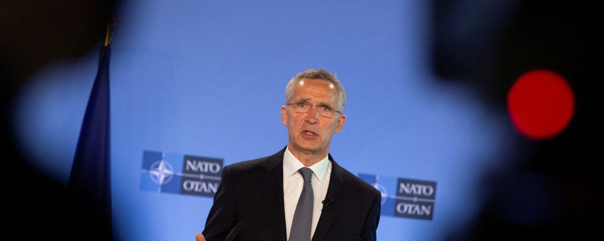 NATO Genel Sekreteri Jens Stoltenberg - Sputnik Türkiye, 1920, 03.06.2021