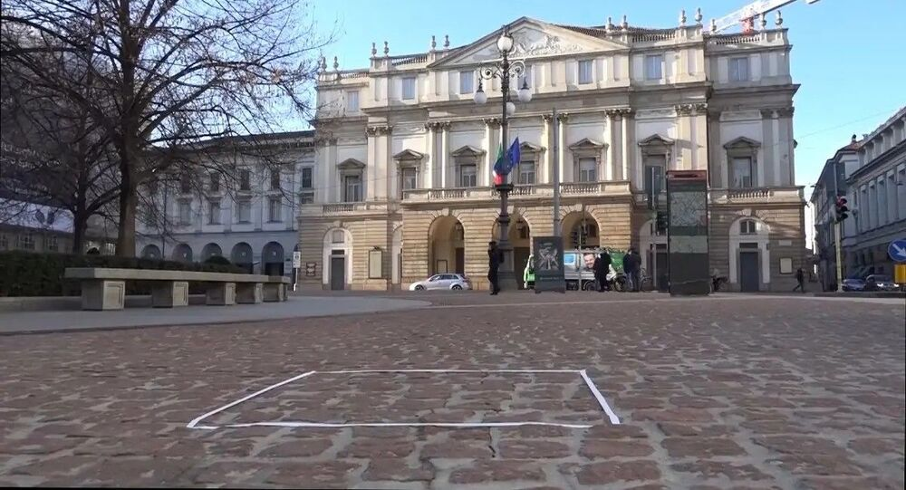 """İtalyan heykeltraş Salvatore Garau'nun """"Io sono"""" (Benim) adlı görünmeyen eseri açık arttırmada 15 bin Euro'ya (yaklaşık 155 bin TL) alıcı buldu."""