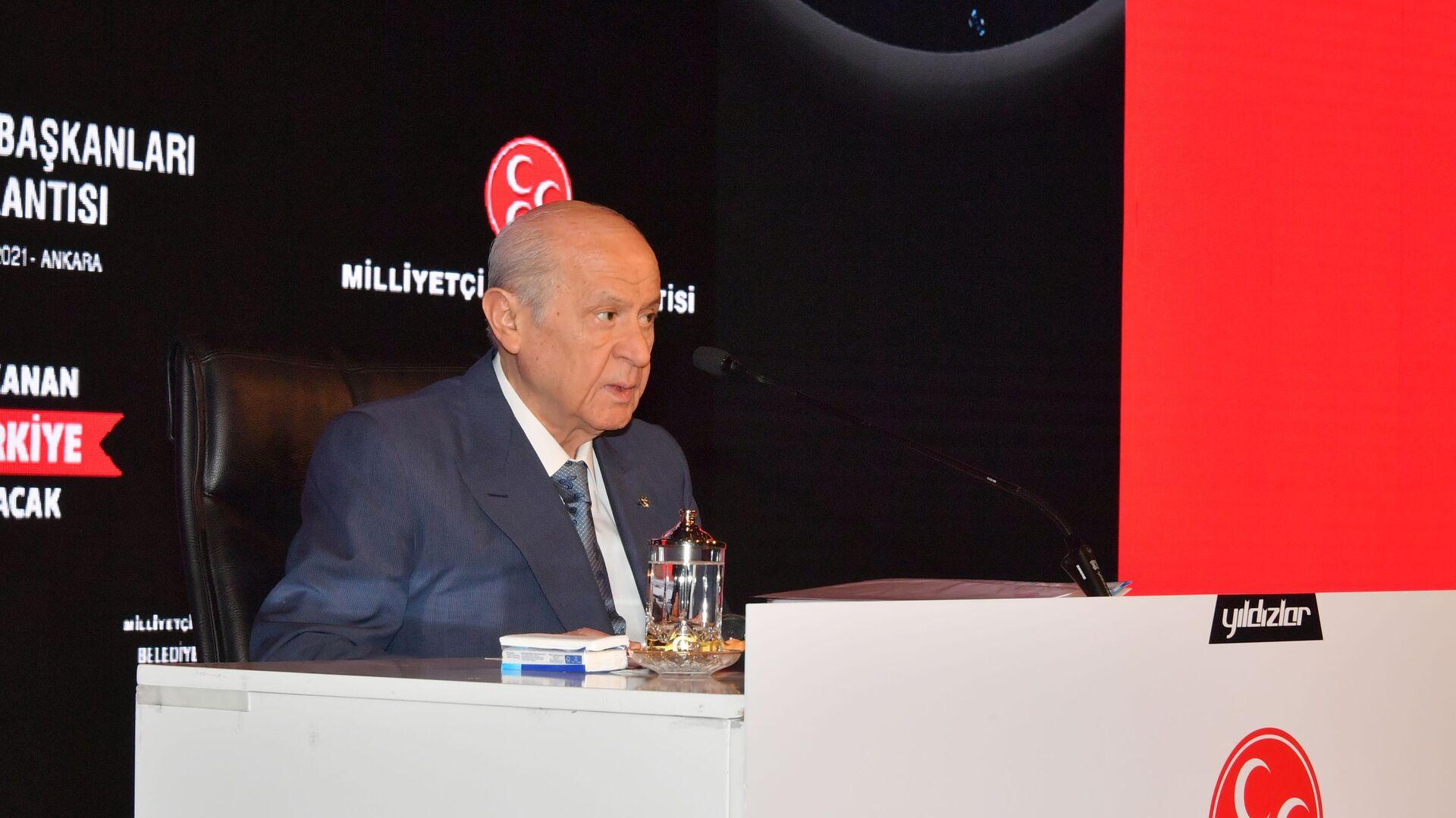 MHP lideri Bahçeli - Sputnik Türkiye, 1920, 23.08.2021