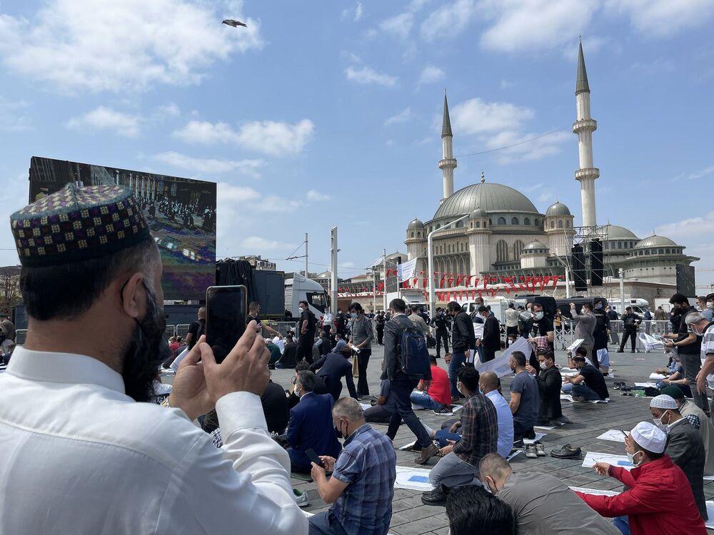 Bugün açılışı yapılan Taksim Camii'nden kareler - Sputnik Türkiye