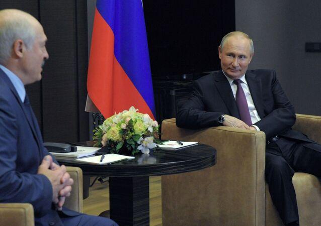 Vladimir Putin-Lukaşenko