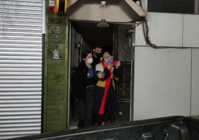 Sakarya'da büfeye kısıtlamada polis baskını