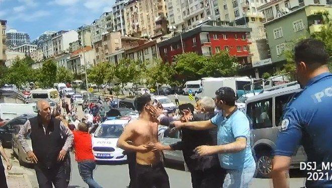 İstanbul Kağıthane'de kavga