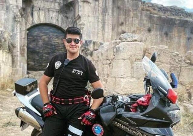 Polis memuru Sercan Ç.