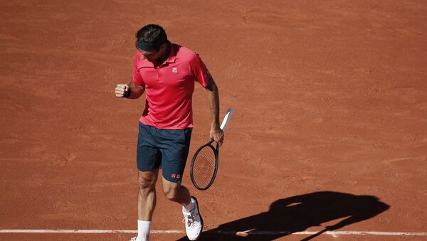 Roger Federer - Fransa Açık - Sputnik Türkiye