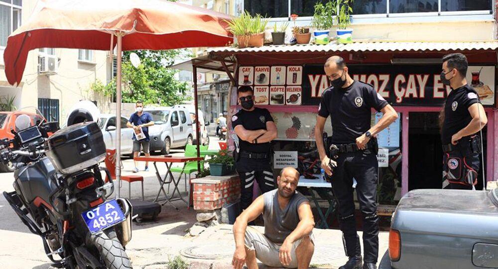 Antalya'da yangın çıkarmaktan 11 kez kaydı bulunan ve Yakmadan duramıyorum diyen Serdar Urgan