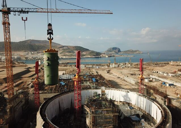 Akkuyu Nükleer Güç Santrali inşaat