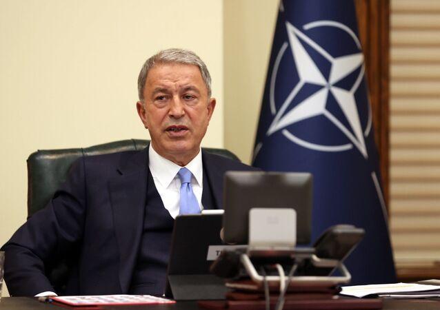 Milli Savunma Bakanı Hulusi Akar, NATO Savunma Bakanları Toplantısı'nda