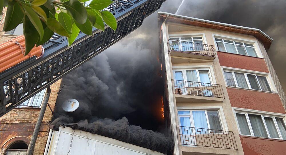 Beyoğlu yangın