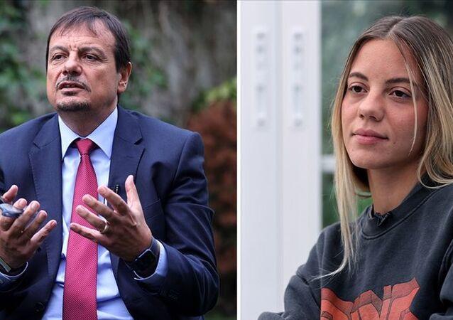 Ergin Ataman ve kızlarının Almanya'ya vize tepkisi: Bilerek yapıldığını ve ayıp olduğunu düşünüyorum