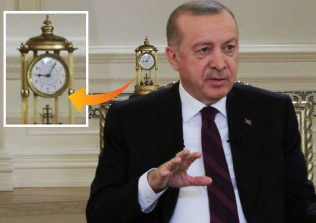Erdoğan'ın televizyon programındaki saat