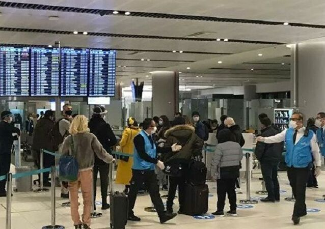 İstanbul Havalimanı-koronavirüs-PCR testi