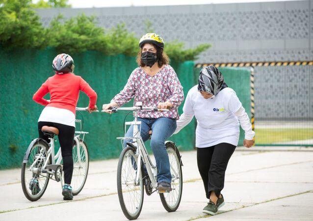 İstanbul Büyükşehir Belediyesi bisiklet sürüş eğitimi