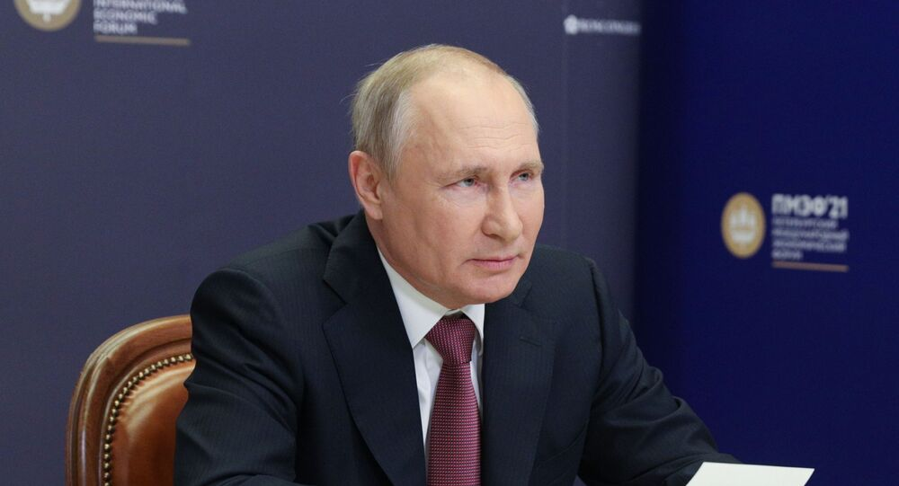 Vladimir Putin SPIEF 2021