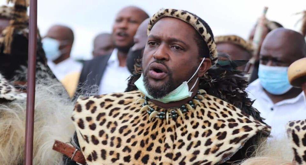 Güney Afrika Cumhuriyeti'nin en önde gelen yerli kabilelerinden Zuluların kralı Misuzulu KaZwelithini