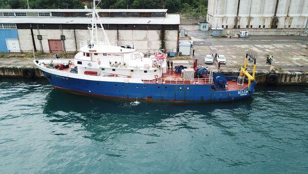 Orta Doğu Teknik Üniversitesi (ODTÜ) araştırma gemisiBilim-2 - Sputnik Türkiye