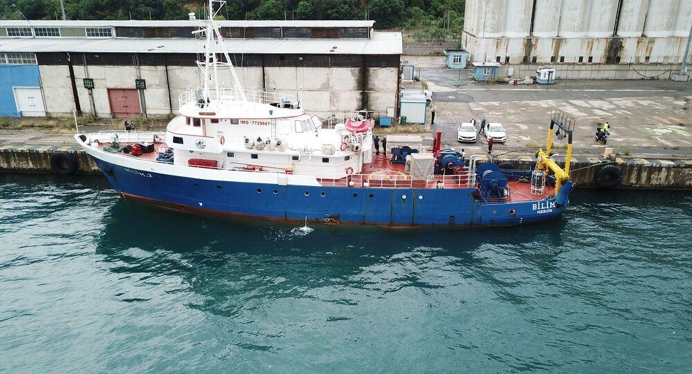 Orta Doğu Teknik Üniversitesi (ODTÜ) araştırma gemisiBilim-2