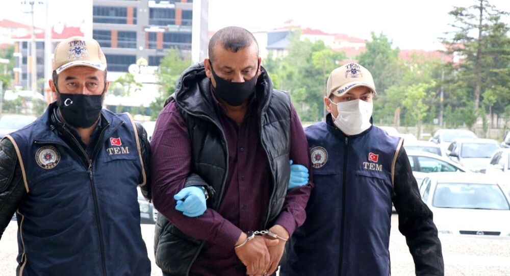 Interpol tarafından aranan IŞİD'li Arkan Taha Ahmad