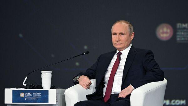 Vladimir Putin - SPIEF 2021 - Sputnik Türkiye