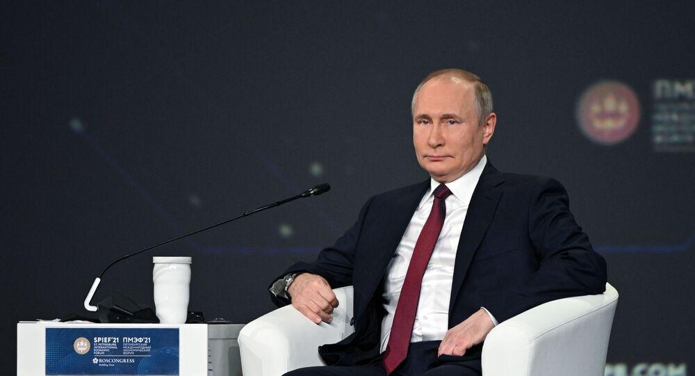 Vladimir Putin - SPIEF 2021