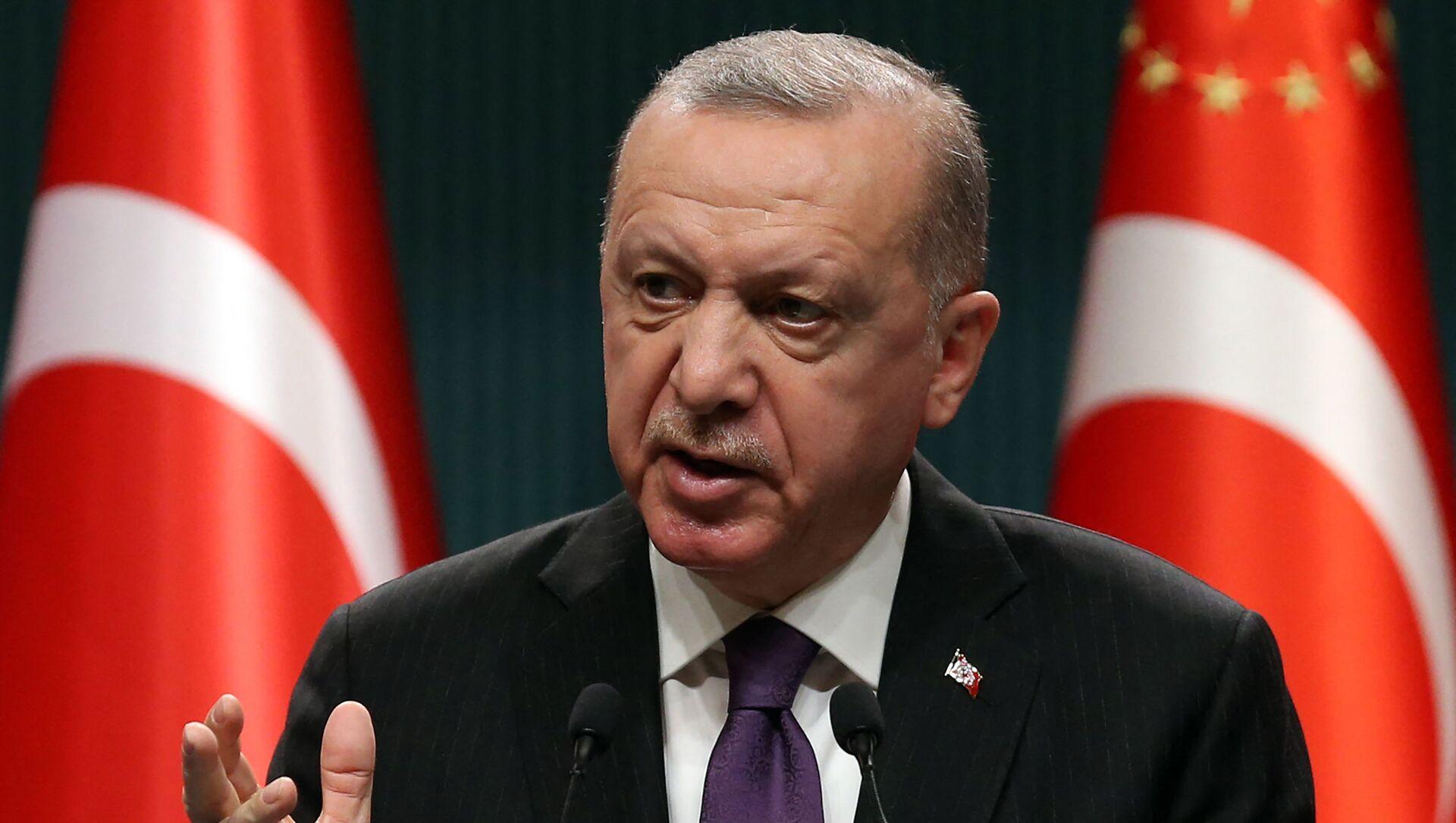 Recep Tayyip Erdoğan - Sputnik Türkiye, 1920, 05.06.2021