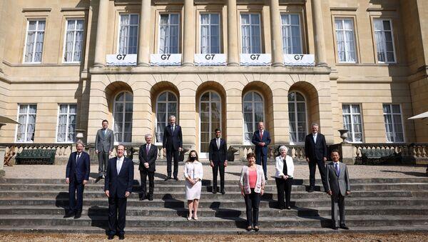 G7 Maliye Bakanları Toplantısı - Sputnik Türkiye