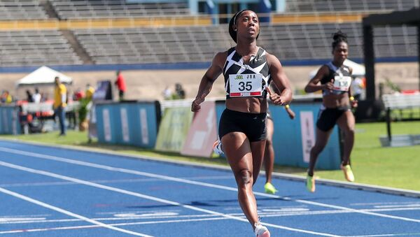 Jamaikalı atlet Shelly-Ann Fraser-Pryce - Sputnik Türkiye