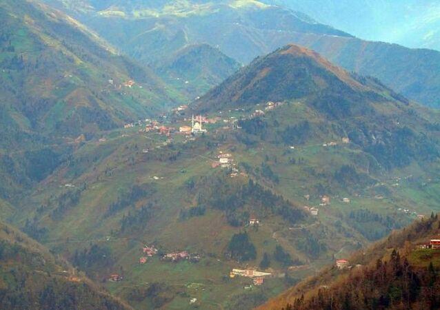 Trabzon'un Araklı ilçesi