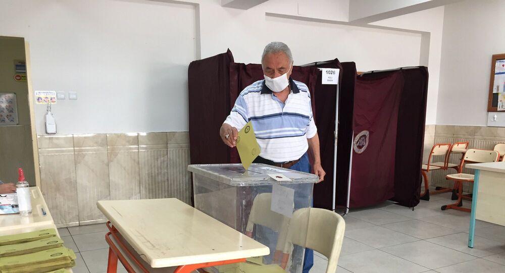 Kayseri Melikgazi ilçesine bağlı Alpaslan Mahallesindeki seçimler
