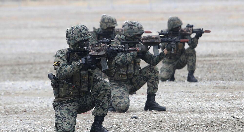 Güney Kore askerleri- ordusu