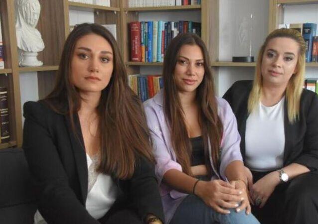 İzmir'de itfaiye aracı kullanırken video çeken 3 kadın