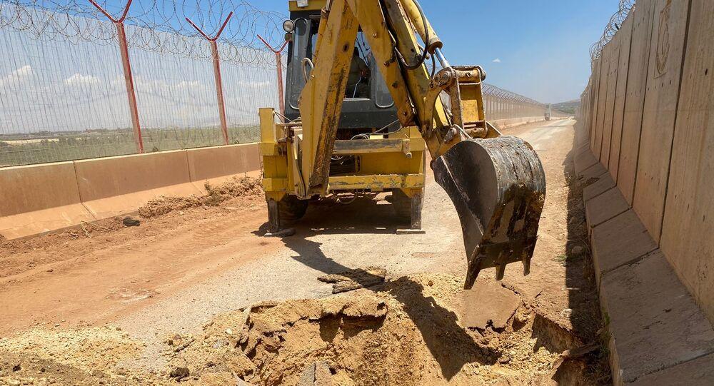 MSB: Suriye'den Türkiye yönüne kazılan tünel kullanılamaz hale getirildi