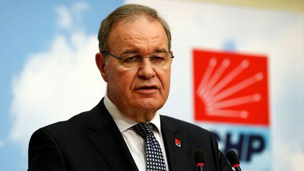 CHP Genel Başkan Yardımcısı ve Parti Sözcüsü Faik Öztrak - Sputnik Türkiye