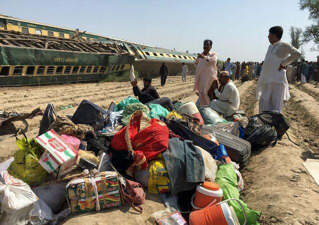 Pakistan - tren  kazası