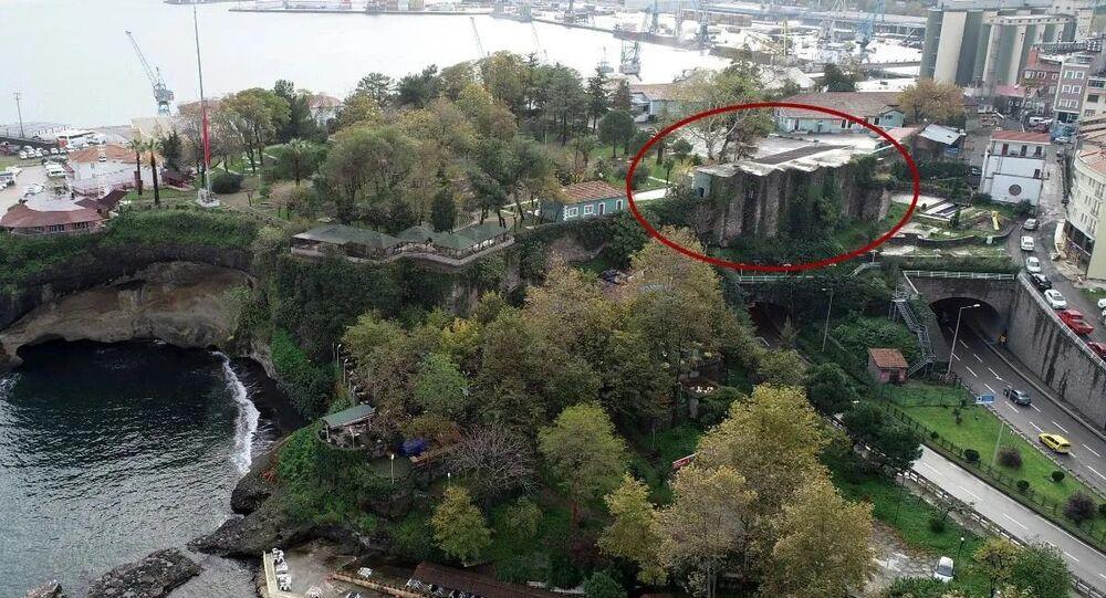 Trabzon'da 700 yıllık kale