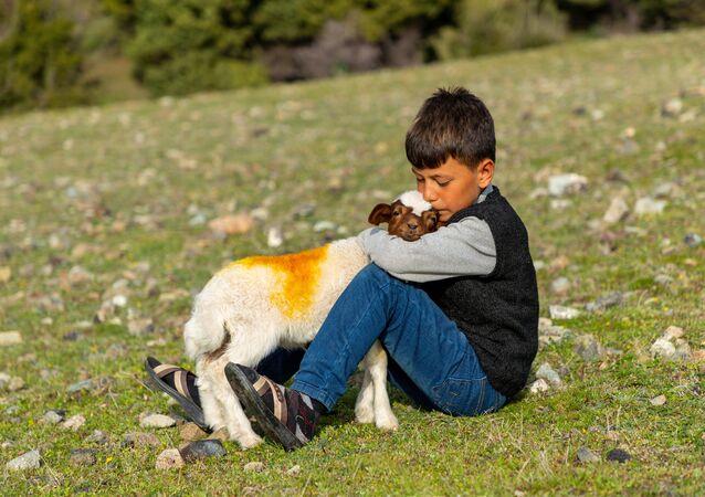 Mehmet Karaca'nın Sevgi İyileştirir isimli çalışması.