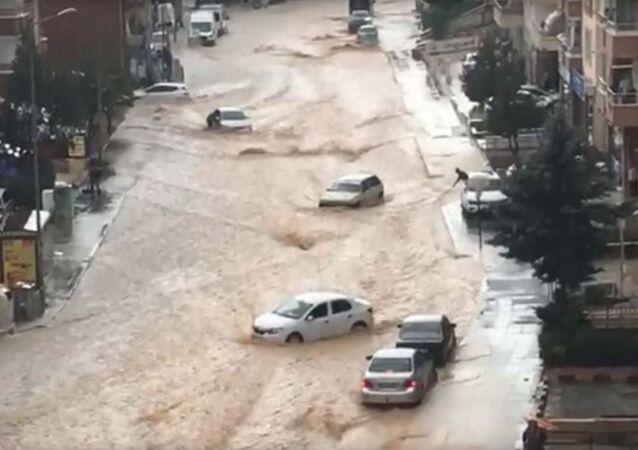 Ankara-sağanak-sel