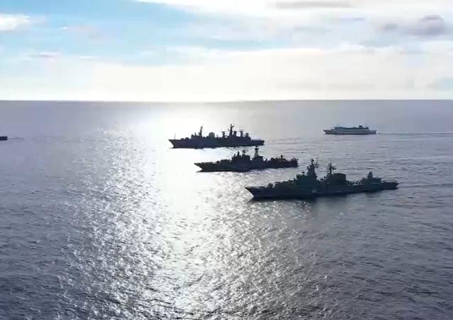 Rusya tatbikat / donanma