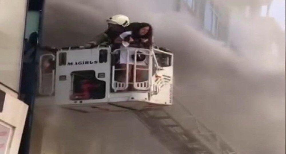 İstanbul Fatih otel yangını