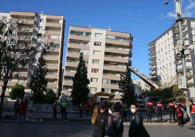 İzmir / deprem / bina