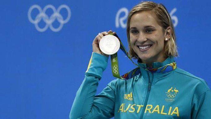 Avustralya'nın iki Olimpik gümüş madalyalı yüzücüsüMadeline Groves