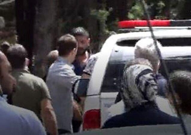 DHA Gaziantep Muhabiri Ahmet Atmaca'ya yapılan saldırı