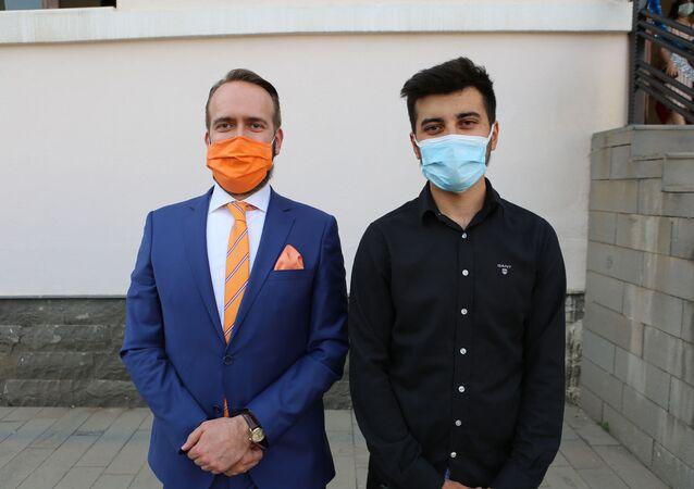 Hollanda Büyükelçi Yardımcısı Erik Weststrate- Mahir Gündoğdu