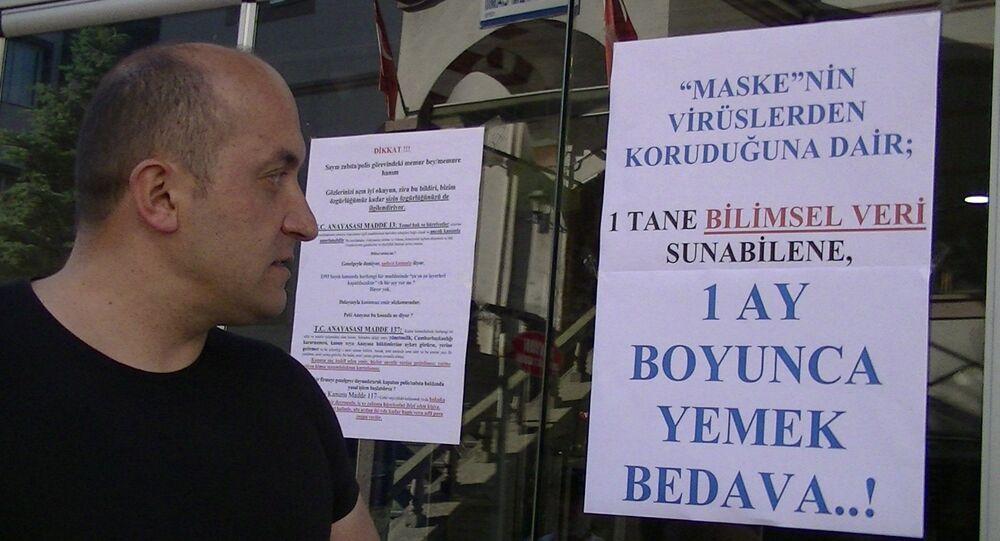 35 maske cezası olan Erkan Cinbir Zonguldak