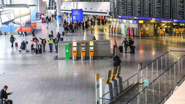 Almanya - koronavirüs - havaalanı - Sputnik Türkiye