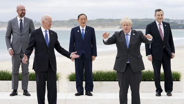 G7 Zirvesi / İngiltere - Sputnik Türkiye