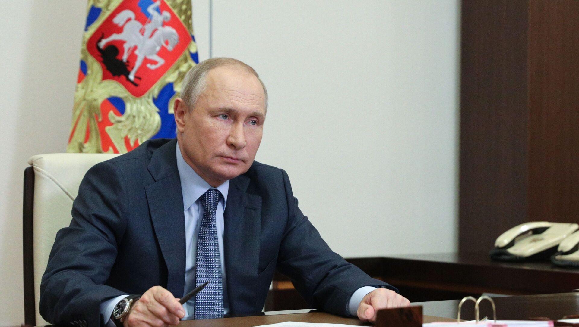 Vladimir Putin - Sputnik Türkiye, 1920, 12.06.2021
